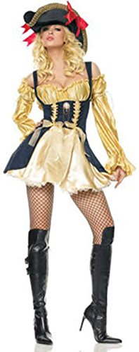 Marauder's Wench Halloween Costume Size:Large