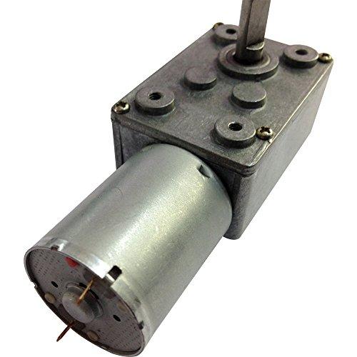 12V Dc Worm Gear Motor Low Speed 2 Rpm