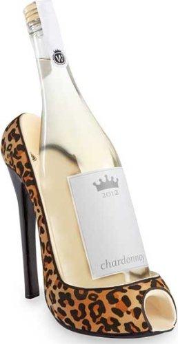 Wild Eye High Heel Bottle Holder, Leopard