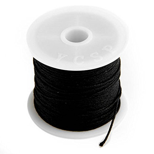 roll-black-waxed-cotton-necklace-beads-cord-string-1mm-hot