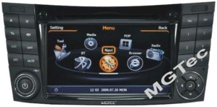 Mercedes-Benz E-Class W211 Touchscreen Autoradio DVD Player MP3 USB SD GPS 3D Navigation iPod USB Bluetooth Freisprecheinrichtung 4GB Internerspeicher