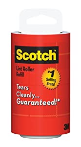 Scotch Lint Roller Refill, 1-Count, 70 Sheets