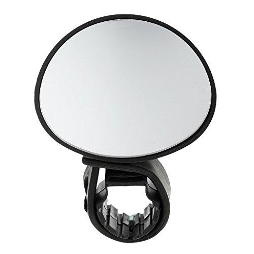 Universal Road Mountain Bike Bicycle Cycling Rear View Mirror 360 Degree Rotate Handlebar Rearview Mirror - Black