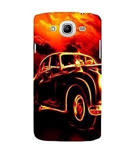 EPICCASE Glowing Car Mobile Back Case Cover For Samsung Galaxy Mega 5.8 I 9150 (Designer Case)