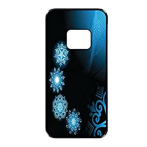 Vibhar printed case back cover for HTC One M8 BluSnow