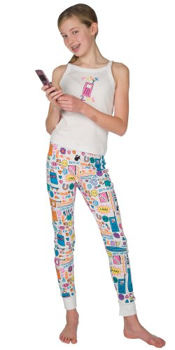 Talk 2 Me Tank Pajamas for Girls