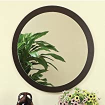 Hot Sale Newbury Wall Mirror in Red Cocoa