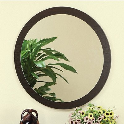Newbury Wall Mirror In Red Cocoa front-156249