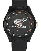 All Blacks - 680179 - Montre Homme - Quartz Analogique - Cadran Noir - Bracelet Plastique Noir