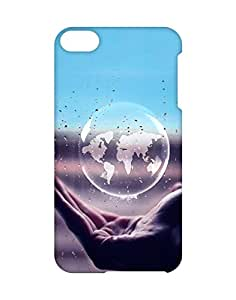 Teck Temple Back Cover for Apple Ipod Touch 6th Generation