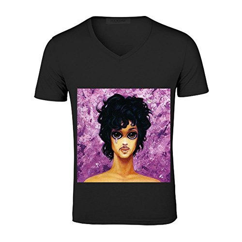 this is neofunk prince Mens T Shirts Music V neck Black (This Old House Episodes compare prices)