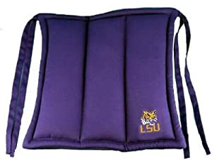 Lsu Fighting Tigers Chair Cushion from Traditions Artglass Studios