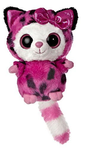 Aurora World YooHoo and Friends Small Pammee Hot Pink Cheetah Plush