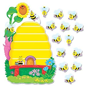 TREND T8077 - Busy Bees Job Chart Plus Bulletin Board Set 18 1/4 x 17 1/2-TEPT8077 from TREND®