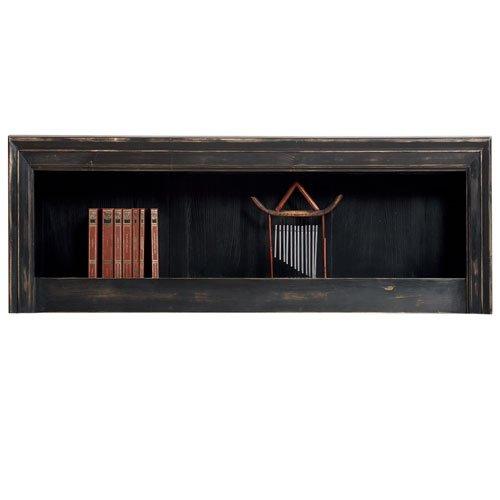 Hängeregal – massiv Holz Kiefer – Echtholz Wandboard 40/150/30 – Antik dunkel, dunkelbraun rustikal online kaufen