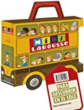 img - for Maleta Mini Larousse.Para descubrir en el cole / Larousse Mini Suitcase. To learn in school: El cuerpo humano & Las 4 estaciones & Los 5 sentidos & ... & Animals of the world (Spanish Edition) book / textbook / text book