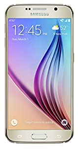 Samsung Galaxy S6, Gold Platinum 32GB (AT&T)