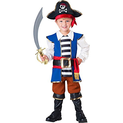 Treasured Pirate Boy Toddler Costume