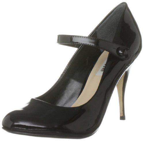 Dune Women's Salute D Black Platforms Heels S11L/Pa10/Cod0060 3 UK
