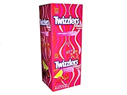 Twizzlers Filled Twists Strawberry Lemonade 18 Pack of 1.9 Oz Each