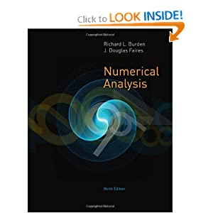 Numerical Analysis J. Douglas Faires, Richard L. Burden