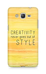 AMEZ creativity never goes out of style Back Cover For Samsung Galaxy Grand Prime
