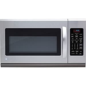 LG LMH2016ST Over-The-Range Microwave Oven with 400 CFM Venting System, 2.0 Cubic Feet