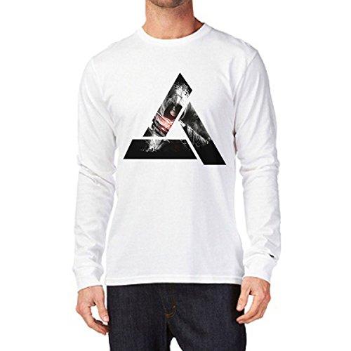 t-shirt manica lunga simbol video game S M L XL XXL uomo donna bambino maglietta by tshirteria
