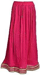Madhu Art Womens Cotton Wrap Skirt (SKT0059)