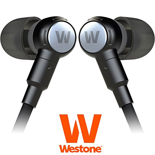Westone Second Generation Adventure Series Beta - High Performance In-Ear Weather Resistant Sport Headphones w/ Inline Mic & Volume Controls iOS Compatible iPod, iPhone, iPad (Westone Bass compare prices)