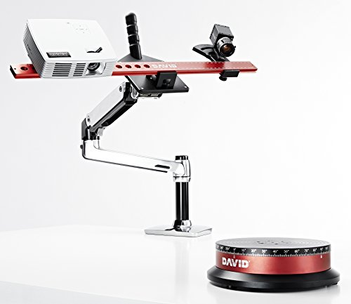 Bundle DAVID SLS-3 3D Scanner + TT-1 Automatic Turntable + FREE DSL-1 Desk Scan Lever (Turntable 3d compare prices)