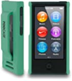 iPod Nano 7 Case - roocase Ultra Slim Fit (Green) Shell Case Cover for Apple iPod Nano 7 (7th Generation)