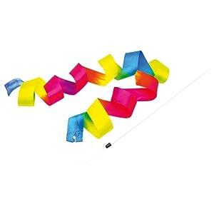 Regenbogenschwungband 3er Set, Wirbelband, Gymnastikband