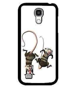 printtech funny Cartoon Back Case Cover for Samsung Galaxy S4::Samsung Galaxy S4 i9500