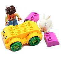 Gran Vela,Wange Fun Series Happy Fleet 10pcs Set Diy Fun Building Blocks Super Fun Toy Gift Set For Girls