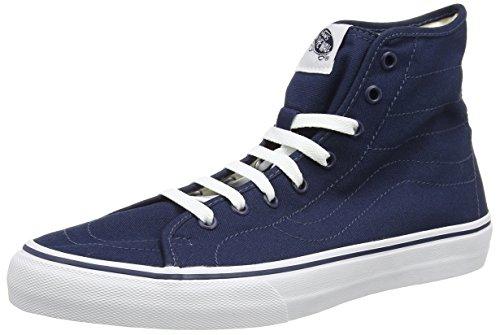 Vans Sk8-hi Decon, Sneaker uomo Blu Blue (Canvas - Dress Blues/True White) 34.5
