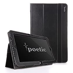 Poetic Slimbook Case for Samsung ATIV Tab 5 XE500T 11.6-inch Tablet Black (3 Year Manufacturer Warranty From Poetic)