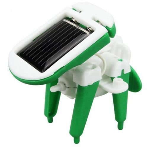Creative DIY 6 IN 1 Educational Learning Power Solar Robot Kit Children Kids Toys (Six In One Solar Robot Kit compare prices)