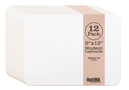 optima-9x12-single-sided-student-dry-erase-lap-boards-12-pack