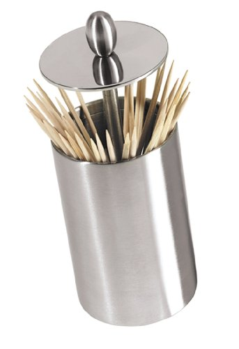 Oggi Retractable Toothpick Holder with Rubber Base