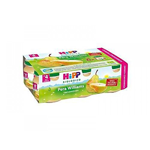Hipp Omogeneizzato Pera Williams Multipack 6x80g