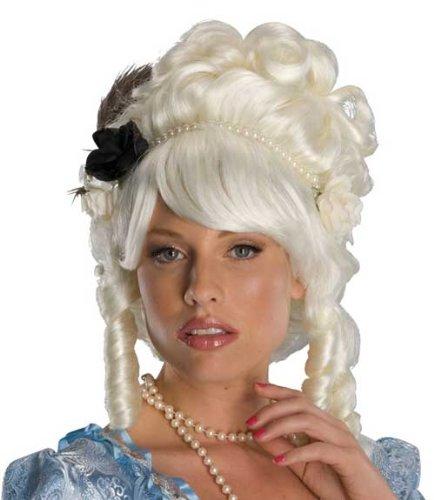 Marie Antoinette Wig W Roses 51776 51777