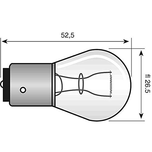 Philips Glühlampe PHILIPS 12V 21W gelb 52534173/15402100 Motorrad