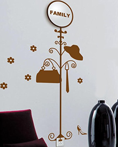 Dream Wall Wall Decal with Night Light, Family Hanger