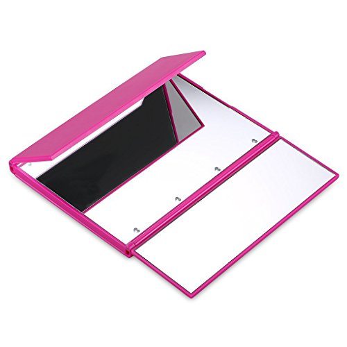 onson makeup vanity mirror with lights tri fold led travel mirror cosmetic pink ebay. Black Bedroom Furniture Sets. Home Design Ideas