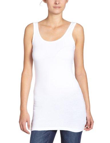 Only - Maglietta, manica lunga, donna, Bianco (Weiß (WHITE)), Medium