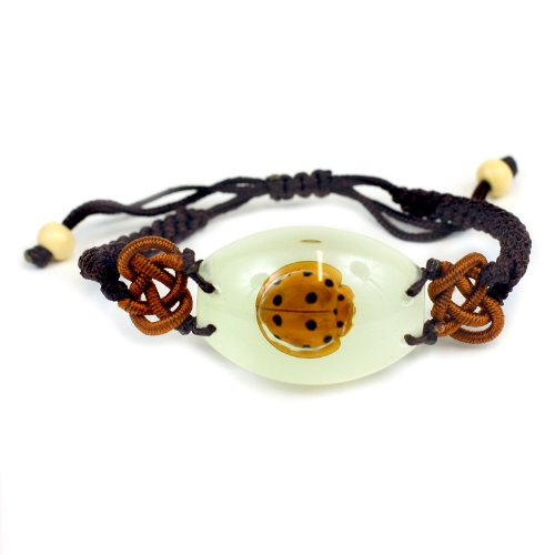 REALBUG Lady Bug Bracelet, Glow in the dark