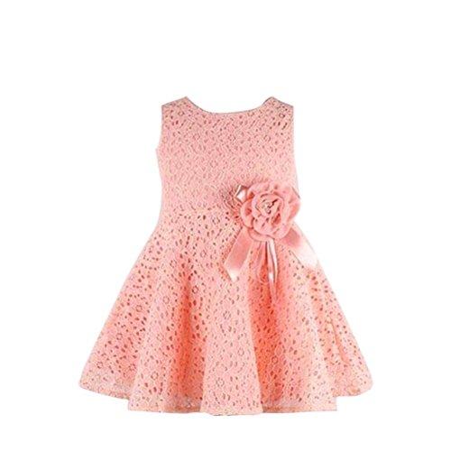 Kleid-Mdchen-0-7-Jahre-alt-Kolylong-1PC-Blumenspitze-Prinzessin-Party-Kleid-1204-6-Jahr-Rosa