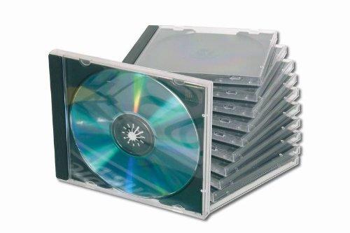 DIGITUS DA-CD-JC - Behälter CD-Aufbewahrung - 1 CD, 1 DVD, DA-CD-JC