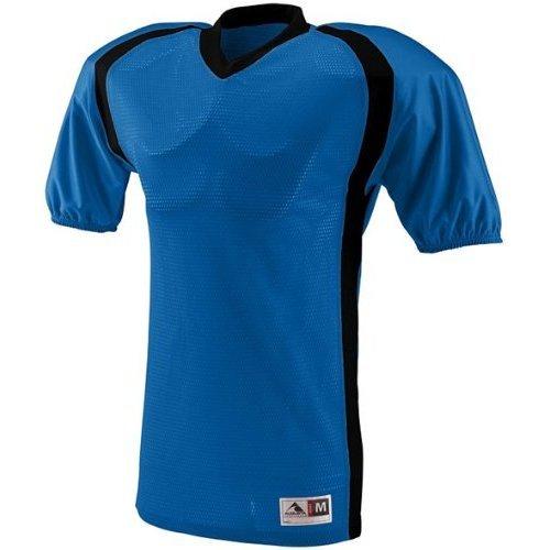 Augusta Sportswear Blitz Custom Football Jersey ROYAL/BLACK YM fubag blitz 11